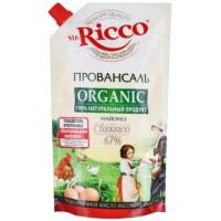 Майонез Мистер Рикко провансаль органик 67% 400мл