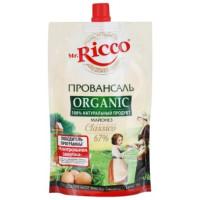 Майонез Мистер Рикко провансаль органик 67% 220мл