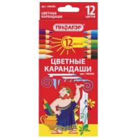 Карандаши 180296 Пифагор цветные 12 цв