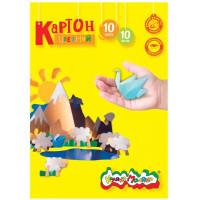 Картон КЦКМ10 Каляка-Маляка цветной 10л