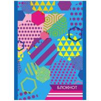 Блокнот С1059-58 Аплика Цветная геометрия А6 16л