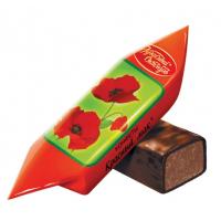 Конфеты Красный Октябрь красный мак 1кг