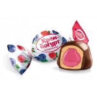 Конфеты Конти Крем-йогурт со вкусом ягод 1кг