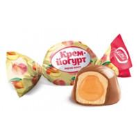 Конфеты Конти Крем-йогурт персик-манго 1кг