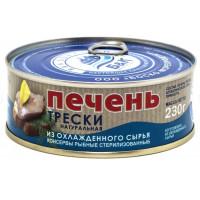 Печень Боско-Морепродукт трески из охлажденного сырья 230г ж/б