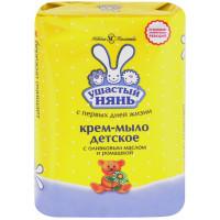 Крем-мыло Ушастый нянь с оливковым маслом и ромашкой 90г