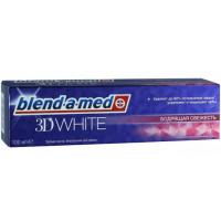 Паста зубная Бленд-а-мед 3Д вайт бодрящая свежесть 100мл
