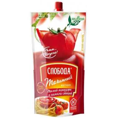 Кетчуп Слобода томатный 200г дой-пак