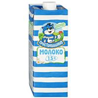 Молоко Простоквашино ультрапастеризованное 1,5% 0,950л