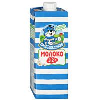 Молоко Простоквашино ультрапастеризованное 3,2% 0,950л