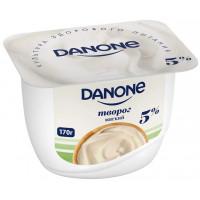 Творог Данон натуральный мягкий 5% 170г