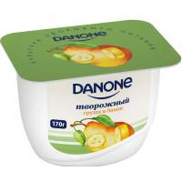 Продукт творожный Данон с грушей и бананом 3,6%170г