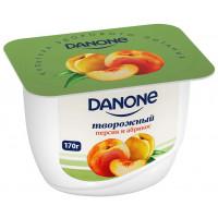Продукт молочный Данон с творожным кремом персик и абрикос 170г