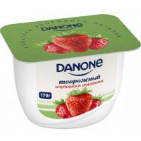 Продукт молочный Данон с творожным кремом клубника и земляника 3,6% 170г
