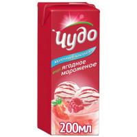 Коктейль Чудо молочный ягодное мороженое 200г