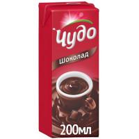 Коктейль Чудо молочный шоколад 3% 0,2л