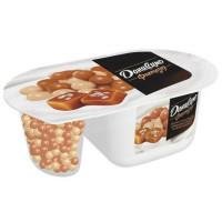 Йогурт Даниссимо Фантазия хрустящие шарики и соленая карамель 6,9% 105г