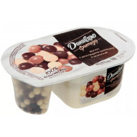 Йогурт Даниссимо Фантазия хрустящие шарики 6,9% 105г