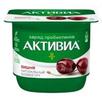 Биойогурт Активиа с бифидобактериями с вишней жир.2,9% 150г