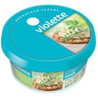 Сыр Виолетта творожный с зеленью 140г
