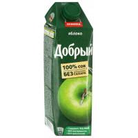 Сок Добрый яблочный 1л