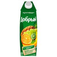 Нектар Добрый мультифрукт кв.уп. 1л
