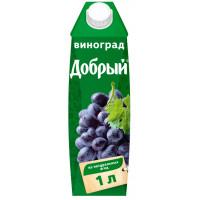 Нектар Добрый виноградный 1л кв