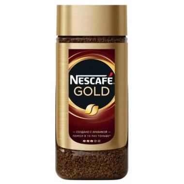 Кофе Нескафе Голд растворимый 95г ст/б