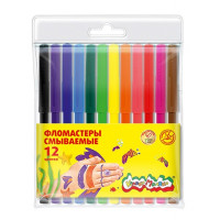Фломастеры Каляка-маляка цветные 12 цветов ФКМ12