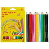 Карандаши Каляка-маляка 18 цветов  ККМ18