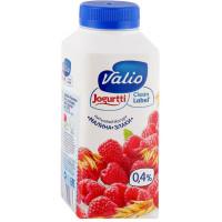 Йогурт Валио питьевой малина и злаки 0,4% 330г