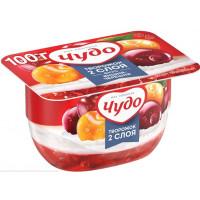 Десерт Чудо творожный вишня/черешня 4% 100г