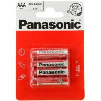 Батарейки Панасоник R03 солевая ААА 4шт