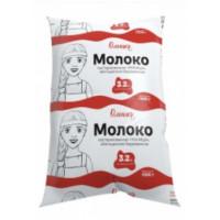 Молоко Олонецкий мк пастеризованное Умница обогащенное йодоказеином 3,2% 1,0кг п/э