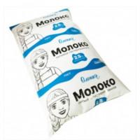 Молоко Олонецкий мк пастеризованное жир.2,5% п/э 1,0кг п/э