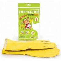 Перчатки резиновые Золушка S (6490)