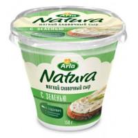 Сыр Арла Натура мягкий сливочный с зеленью 150г
