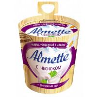 Сыр Альметте с чесноком творожный 60% 150г