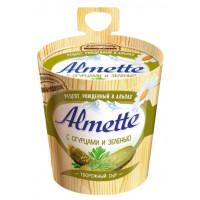 Сыр Альметте с огурцами и зеленью творожный 60% 150г