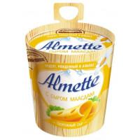Сыр Альметте с сыром Маасдам творожный 57% 150г