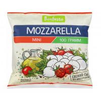 Сыр Бонфесто Моцарелла мини в рассоле 45% (12 шариков) 100г