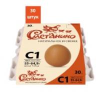 Яйцо Сметанино столовое С1 30шт