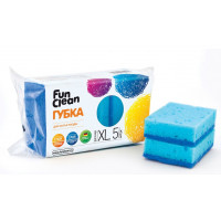 Губка Фан клеан XL для мытья посуды 5шт (6794)