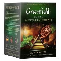 Чай Гринфилд минт энд шоколад 20пир 36г