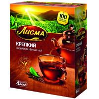 Чай Лисма индийский крепкий 100пак. 200г