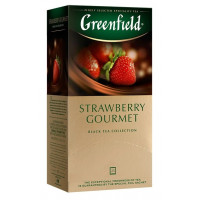 Чай Гринфилд строуберри гурме 25пак 37,5г