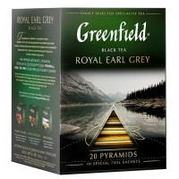 Чай Гринфилд роял эрл грей черный байховый 20*40г