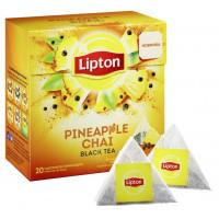 Чай Липтон с анансом, черным перцем и экстрактом лимона 20пак. 36г
