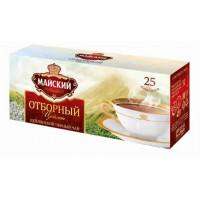 Чай Майский отборный черный чай 25пак 50г