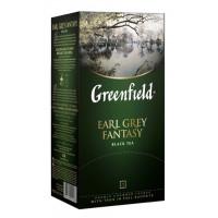 Чай Гринфилд эрл грей фэнтази цейлонский черный 25пак. 50г